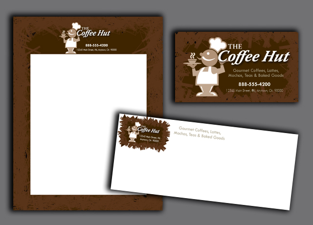 High quality color envelopes promote a professional image.